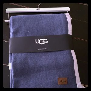 UGG Bryce Throw 50x70 denim jersey knit